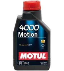 Olio Motore Auto Motul 4000 Motion 15W40 - 1 lt