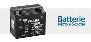 Batterie Moto e Scooter