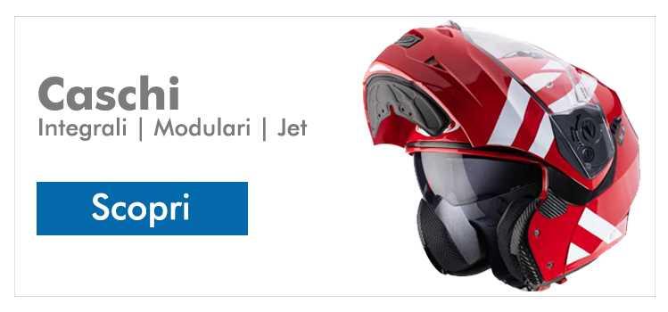 Trova il tuo casco integrale, modulare, jet, demi jet o motard / dual sport!